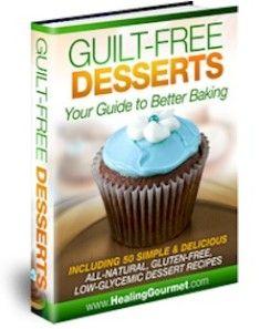 Guilt Free Desserts e-cover