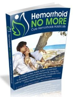 Hemorrhoid No More e-cover
