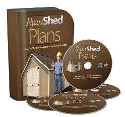 Ryan Shed Plans e-cover
