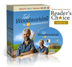 Ted's Woodworking Plans e-cover