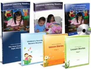 Children Learning Reading e-cover