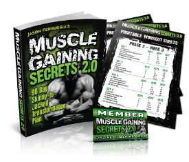 Muscle Gaining Secrets e-cover
