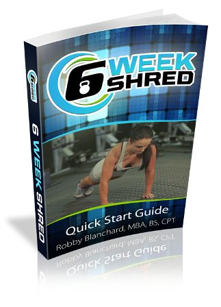 6 Week Shred e-cover