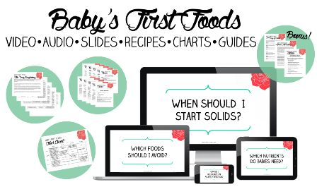 Baby's First Foods e-cover