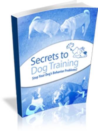 Secrets To Dog Training free pdf download