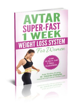 avtar weight loss system e-cover