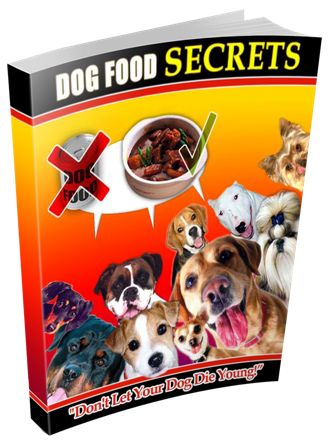 Dog Food Secrets e-cover