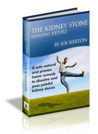 Kidney Stone Removal Report e-cover