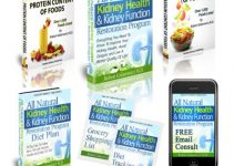All Natural Kidney Health & Kidney Function Restoration e-cover