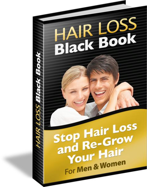 Hair Loss Black Book e-cover