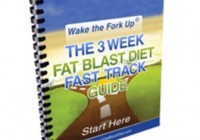 3 Week Fat Blast Diet ebook cover