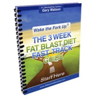 3 Week Fat Blast Diet ebook cover
