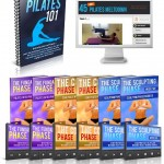 45 Day Pilates Melt Down ebook cover