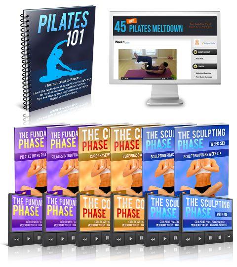 45 Day Pilates Melt Down e-cover
