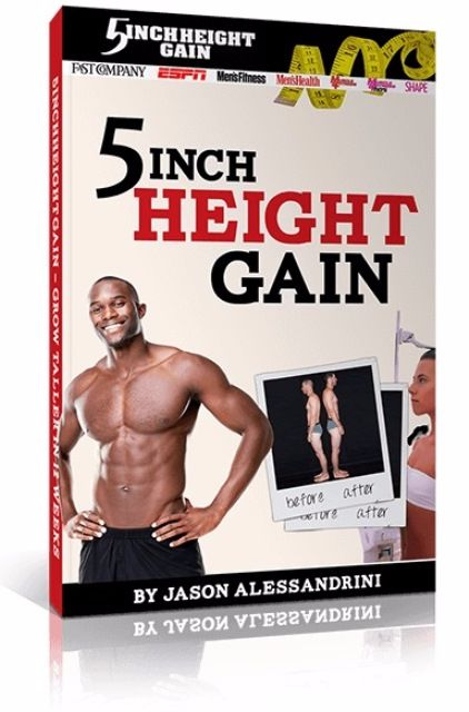 5 Inch Height Gain Blueprint e-cover