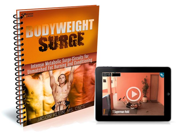 Bodyweight Surge ebook cover