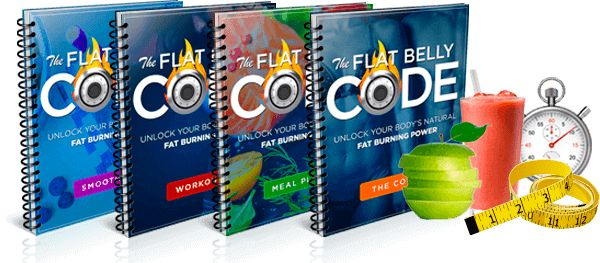 the Flat Belly Code e-cover