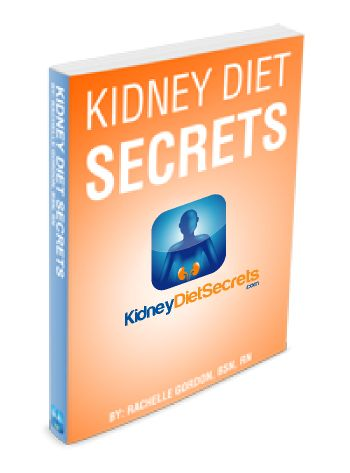 Kidney Diet Secrets ebook cover