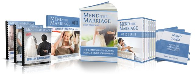 Mend The Marriage ebook cover