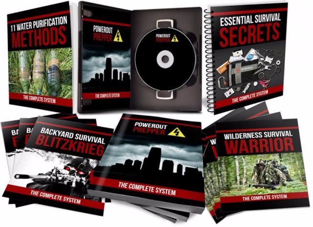 Power Out Prepper ebook cover
