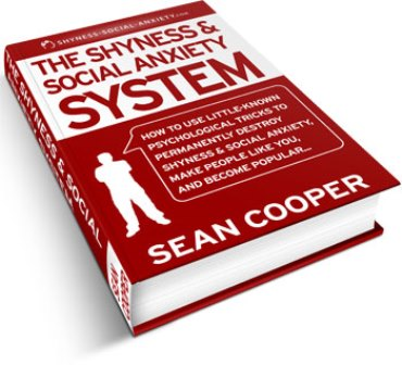 the Shyness And Social Anxiety System ebook cover