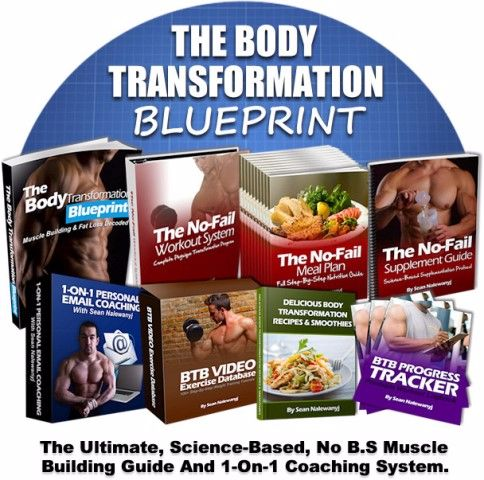 Body Transformation Blueprint ebook cover