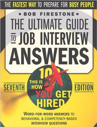 The Ultimate Guide to Job Interview Answers e-cover