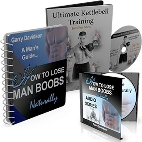 How To Lose Man Boobs Naturally book cover