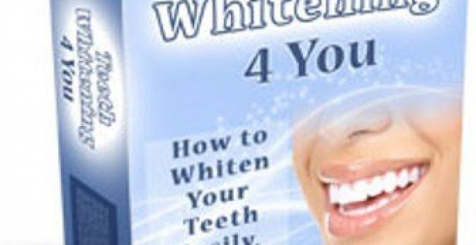 Teeth Whitening 4 You e-cover