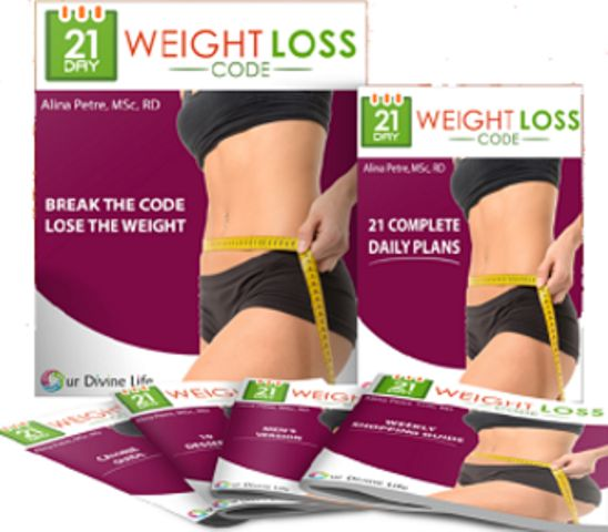 21 day weight loss code