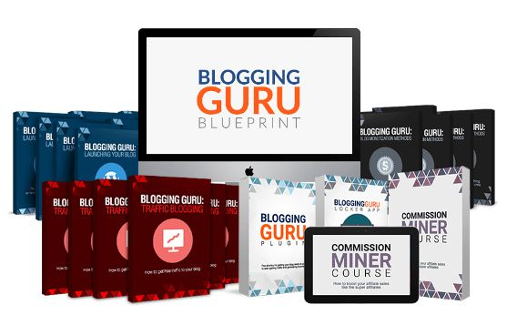 Blogging Guru Blueprint book cover