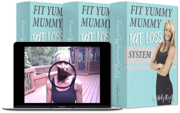 Fit Yummy Mummy Fat Loss System book cover