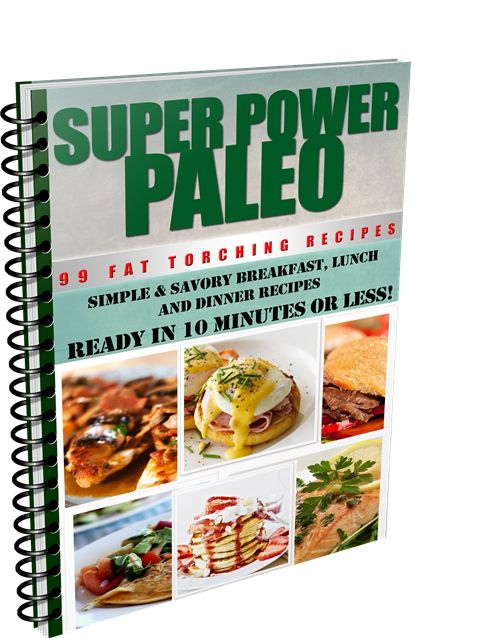 Super Power Paleo eCookbook cover