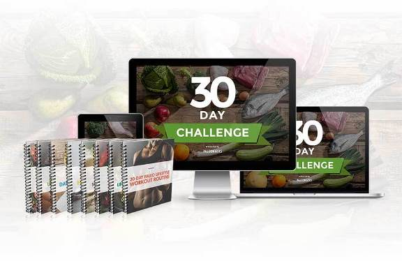 Paleohacks 30 Day Paleo Challenge e-cover