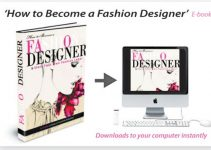 How to Become a Fashion Designer e-cover