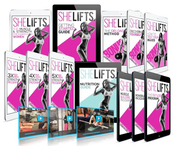 She Lifts Strength Training Program By Mike Samuels