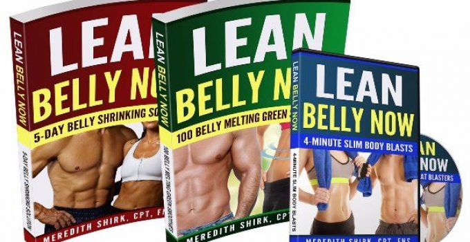 Lean Belly Now e-cover