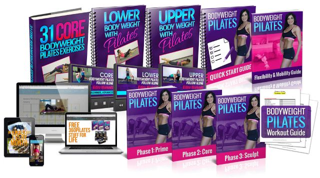 Bodyweight Pilates e-cover