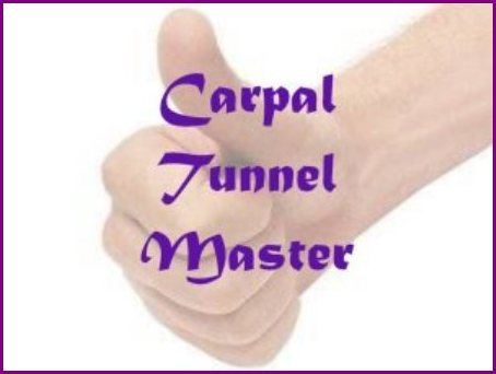 Carpal Tunnel Master e-cover