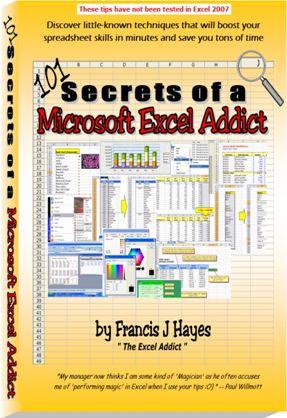 101 Secrets of a Microsoft Excel Addict e-cover