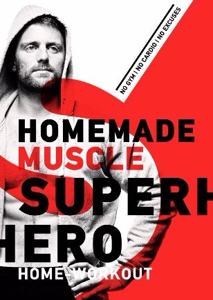 Superhero Home Workout e-cover