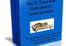 DIY Upholstery Instructions e-cover