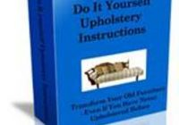 Do It Yourself Upholstery Instructions book cover