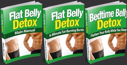 Flat Belly Detox book cover