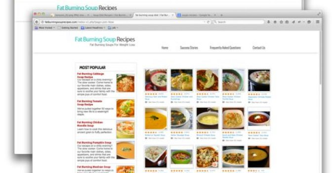 Fat Burning Soup Recipes e-cover
