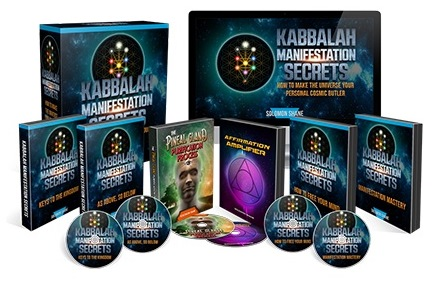 Kabbalah Manifestation Secrets book cover