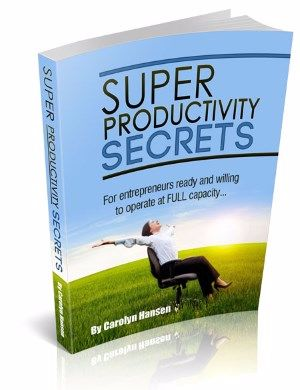 Super Productivity Secrets book cover