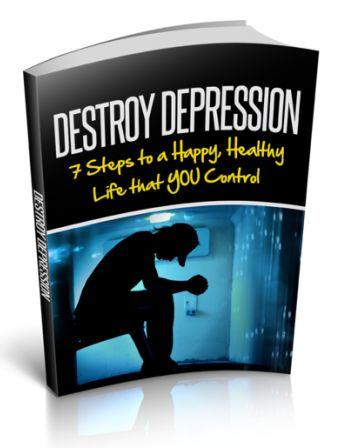 Destroy Depression ebook cover