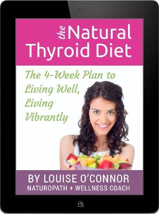 Natural Thyroid Diet book cover
