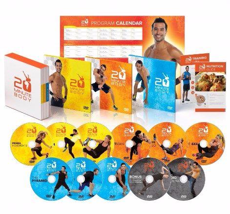 20 Minute Body ebook cover